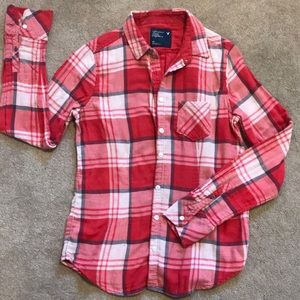 American Eagle Women's Button Up Top